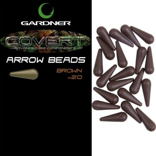 COVERT ARROW BEADS GREEN (20)