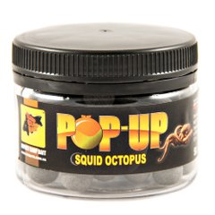 Бойлы Плавающие Pop-Ups Squid Octopus [Кальмар & Осьминог], 10, 35, Black/Черный