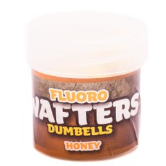 Плавающие Бойлы Fluoro Wafters, Honey [Мед], 20шт