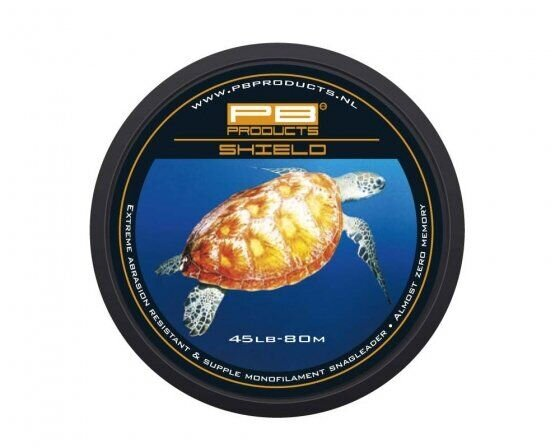 Моно шок-лидер PB PRODUCTS SHIELD, 45LB, 80 m