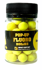 Бойлы Плавающие Fluoro Pop-Ups, Honey [Мед], 10, 20, Fluoro Yellow / Флюоро Желтый