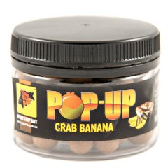 Бойлы Плавающие Pop-Ups Crab Banana [Краб & Банан], 10, 35, Brown/Коричневый
