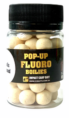 Бойлы Плавающие Fluoro Pop-Ups, Garlic & Almond [Чеснок & Миндаль] - NEW 2020, 10, 20, Белый/White