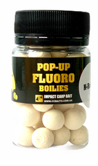 Бойлы Плавающие Fluoro Pop-Ups, N-Butyric Acid, [Масляная Кислота] - NEW 2020, 10, 20, Белый/White