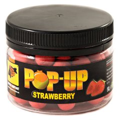 Бойлы Плавающие Pop-Ups Strawberry [Клубника], 10, 35, Red/Красный