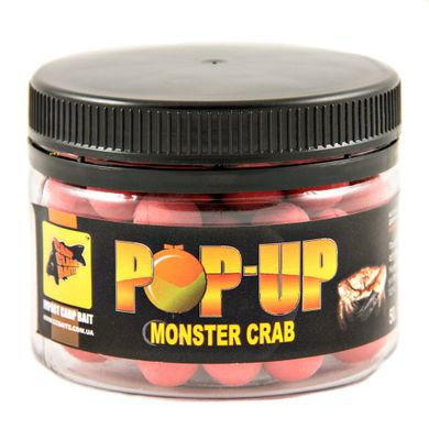 Бойлы Плавающие Pop-Ups Monster Crab [Монстер Краб], 10, 35, Red/Красный