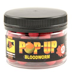Бойлы Плавающие Pop-Ups Bloodworm [Мотыль], 10, 35, Red/Красный