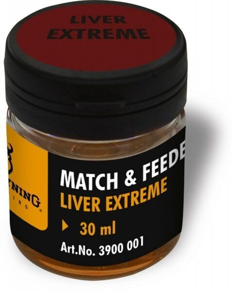 Match & Feeder Dip brown Liver Extreme 30ml